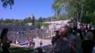 Mumayev Hill - memorial gardens